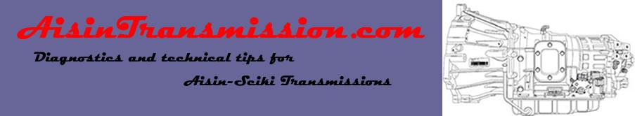 Aisin AS68RC Tech Tips